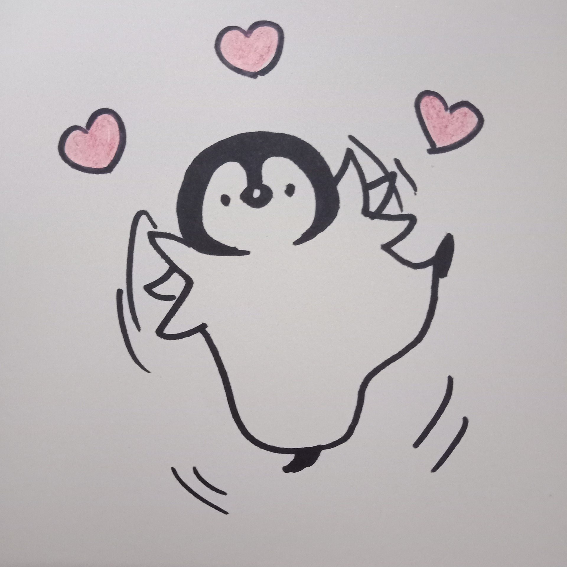 实在抱歉今天给你们更新一大波可爱的小企鹅作为补偿!