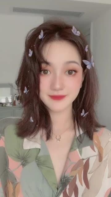 前方高能 购物狂小邓来啦 让我们一起画一个韩国小姐姐的妆吧!感觉自己好温柔哈哈哈????无水印高清抖音电脑版