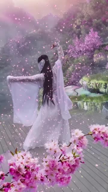 古风 就这样吧????不换背景音乐了摄影 欢天喜地七仙女无水印高清段视频